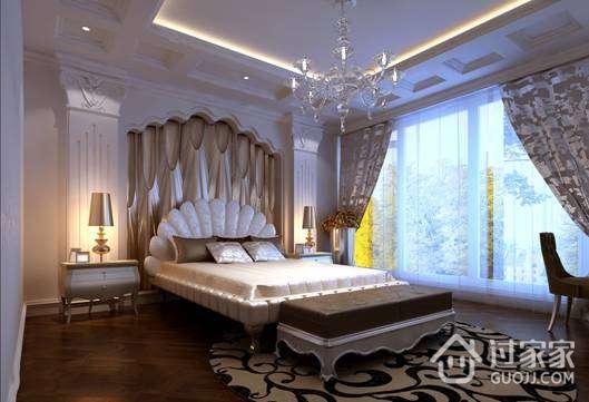 欧式卧室背景墙的制做方法