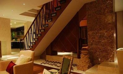 中式风格复式楼欣赏客厅