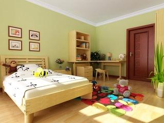 现代中式温馨住宅欣赏儿童房设计