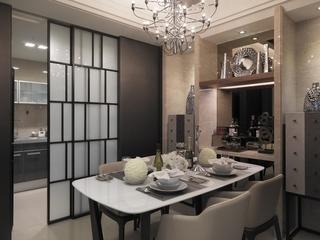新古典奢华样板房欣赏餐厅效果