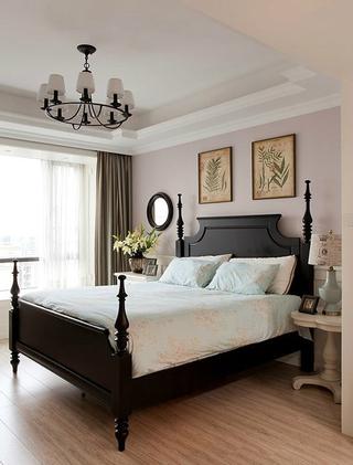 典雅美式卧室灯饰效果图 简单有个性