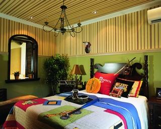 奢华东南亚装修卧室