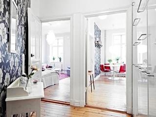 43平白色北欧一居欣赏卧室效果