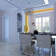 85平现代住宅欣赏餐厅