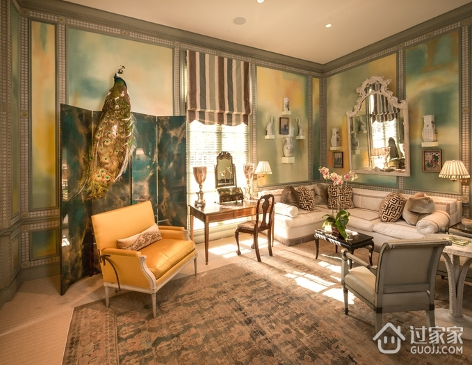 欧式奢华设计套图休闲厅_过家家装修效果图