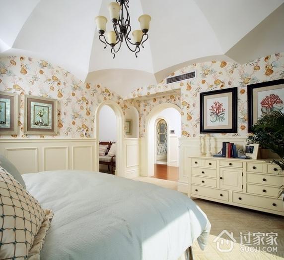 美式乡村卧室效果图