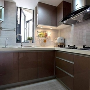 时尚80后家居 厨房橱柜装修效果图