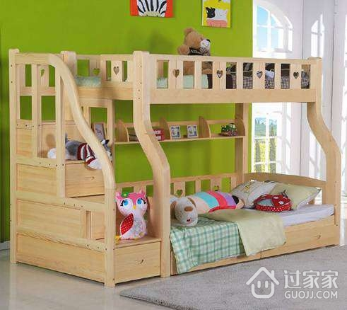 松木高低床价格_松木高低床的三大优势_过家家装修网