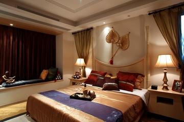 118平东南亚风格住宅欣赏卧室陈设