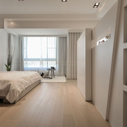 76平现代简约案例欣赏卧室效果