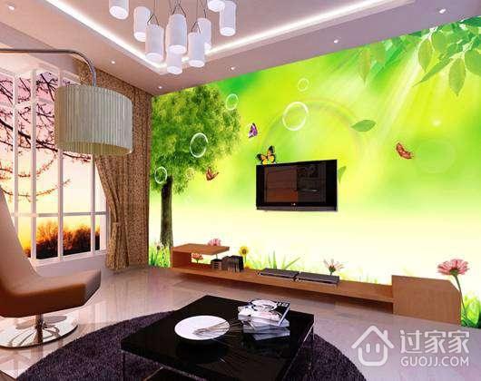 客厅背景墙装修方式及优缺点分析