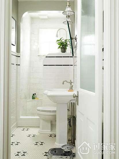巧用隔断设计 15个拯救小卫生间的妙招