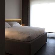 现代风格设计效果卧室床品