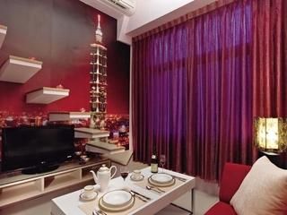小巧精致单身住宅欣赏餐厅