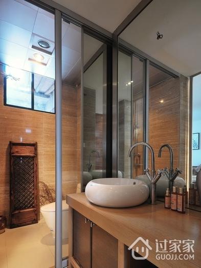 中式传统风住宅欣赏卫生间隔断