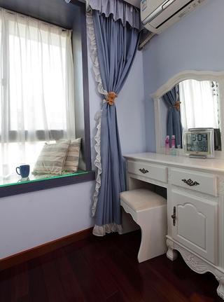 113平混搭时尚住宅欣赏卧室局部