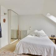 北欧风格设计效果卧室嵌入式衣柜