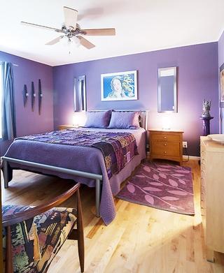 彩色童话住宅欣赏卧室陈设