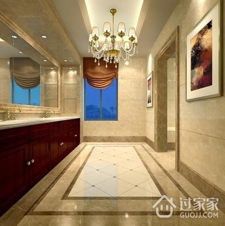 150平欧式大宅设计欣赏卫生间吊顶