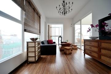 新中式风格休闲厅