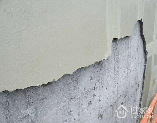乳胶漆墙面裂缝的原因及对策