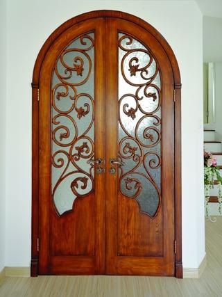 地中海效果图套图卧室门设计