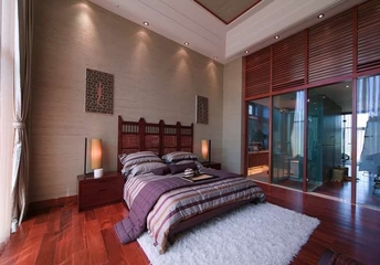 中式风格实景案例欣赏卧室