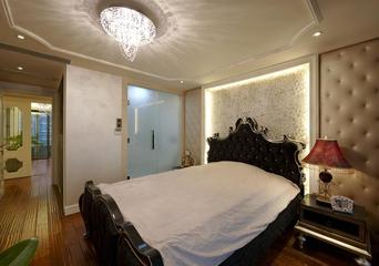 欧式奢华大宅设计欣赏卧室效果