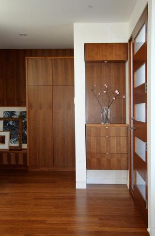 现代风格装饰图玄关