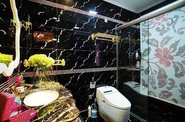116平简欧风格效果图欣赏卫生间设计