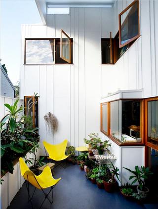 缤纷色彩混搭风格住宅阳台