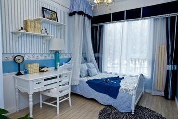 69平地中海住宅欣赏卧室窗户