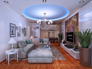 白色简洁三居室欣赏