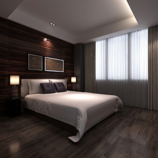雅致新中式住宅欣赏卧室陈设