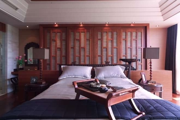 中式风格实景案例欣赏卧室效果