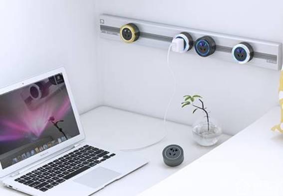 颜值与实用并存,这些多功能桌面插座适合爱生活的你