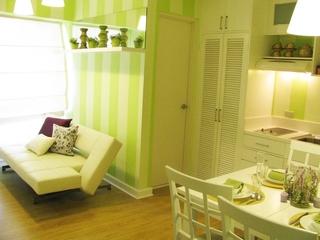 绿色环保两居室欣赏