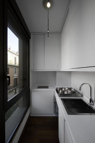 现代风格公寓设计图洗菜台