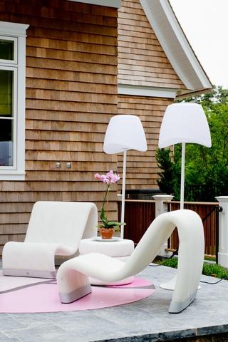 欧式别墅风格效果欣赏庭院陈设
