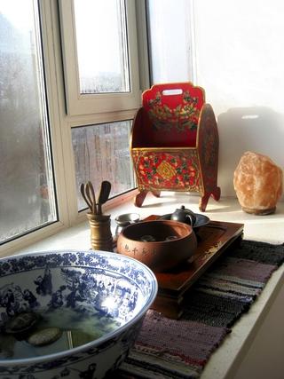 72平现代两居室欣赏飘窗