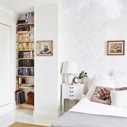 女生最爱的白色阁楼欣赏卧室