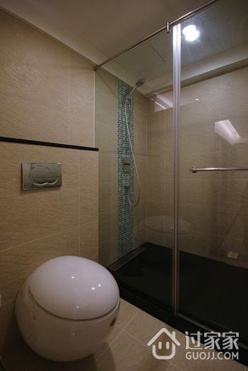 现代家居两居室欣赏卫生间吊顶