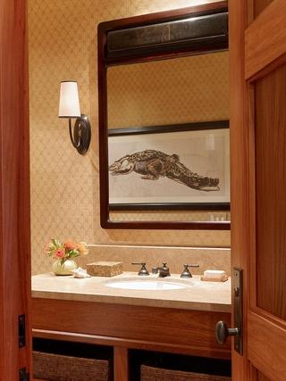 东南亚风格套图洗手间装饰