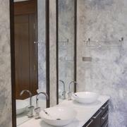 现代别墅硬装设计欣赏洗手间