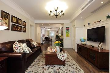 79平美式两居室欣赏