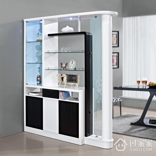 客厅隔断柜的风格及保养
