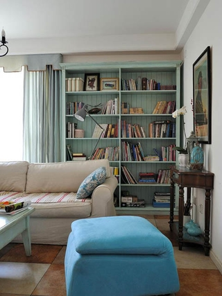 轻松舒适田园住宅欣赏客厅