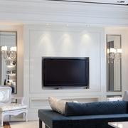客厅背景墙装修效果图 让家多一层浪漫