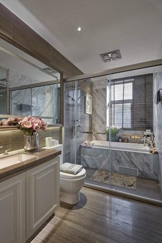 精致新古典住宅欣赏卫生间吊顶