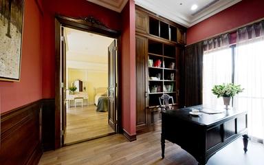 完美空间质感简欧住宅欣赏书房